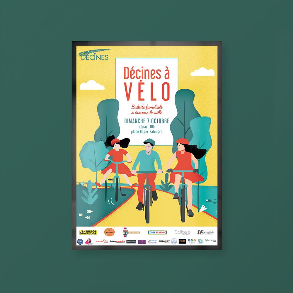 Création d'affiche publicitaire pour événement - Agence de communication et agence publicitaire - Lyon AVICOM'