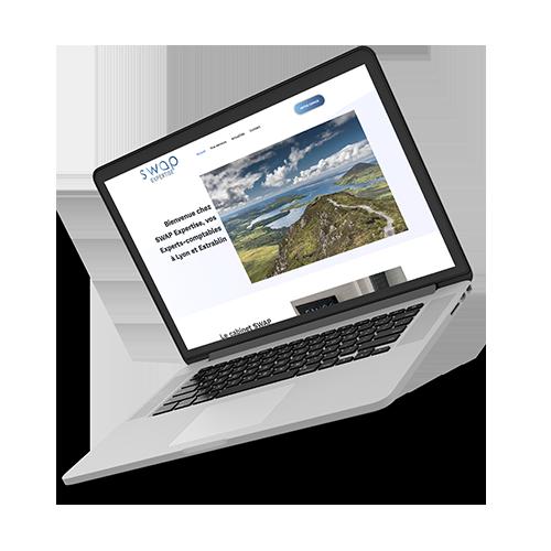 Création d'identité de marque, création de site design et logo de marque- Agence design et digitale sur Lyon, AVICOM'