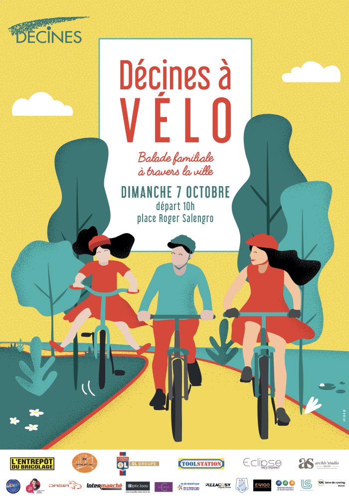 Affiche publicitaires design pour événement sur Lyon - AVICOM'