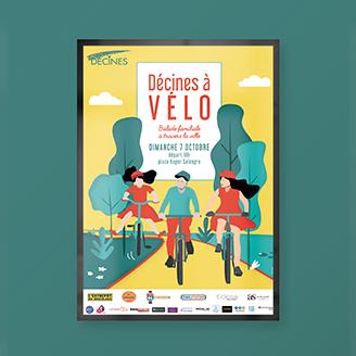 Affiche publicitaire, flyer design pour événement à Lyon - AVICOM' Agence de publicité