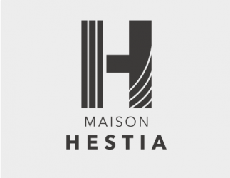 Logo Maison HESTIA - Création de logos agence de communication AVICOM'