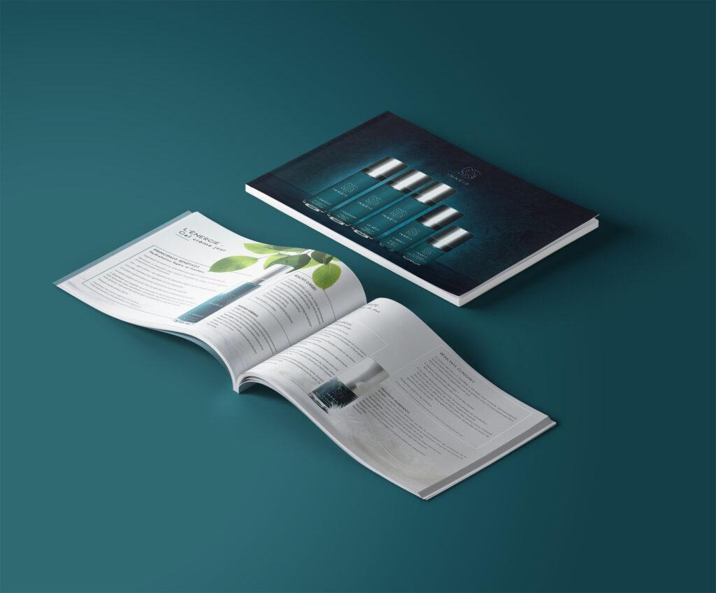 Intégration identité visuelle sur magazine
