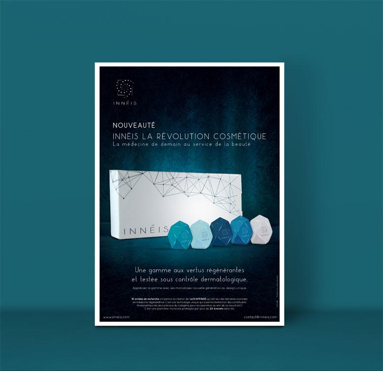 Création affiche publicitaire -Agence de création visuelle